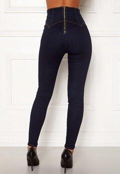 Chiara Forthi Chiara corset waist jeans Dark blue Bubbleroom.dk