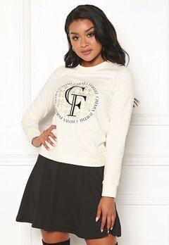 Chiara Forthi Chiara Sweater Creme Bubbleroom.dk