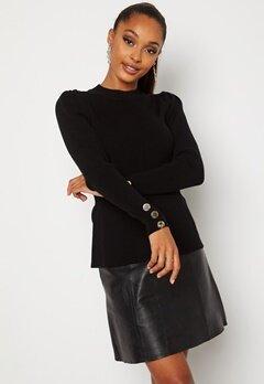 Chiara Forthi Claudina sweater Black bubbleroom.dk