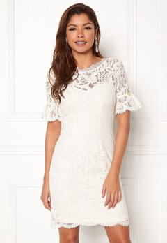 Chiara Forthi Cloelle Lace Dress Antique white Bubbleroom.dk