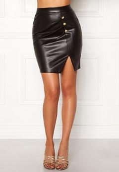 Chiara Forthi Constanza skirt Black Bubbleroom.dk