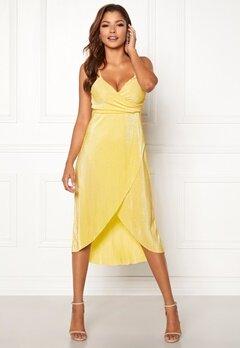Chiara Forthi Corinne dress Yellow Bubbleroom.dk