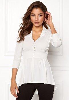 Chiara Forthi Darleen Shirt White Bubbleroom.dk