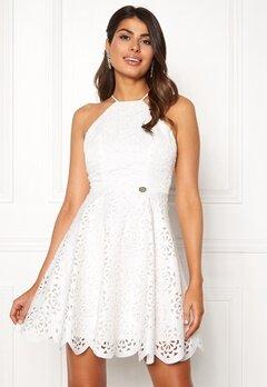 Chiara Forthi Elaine lazer cut dress White Bubbleroom.dk