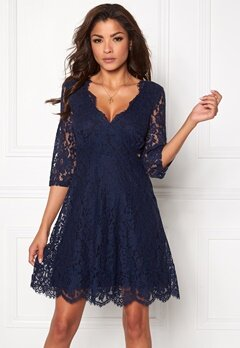 Chiara Forthi Ellix Dress - 2 Dark blue Bubbleroom.dk