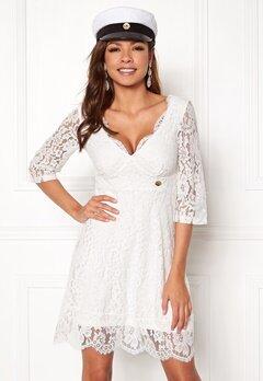 Chiara Forthi Ellix Dress - 2 White Bubbleroom.dk