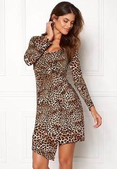 Chiara Forthi Felice dress Leopard Bubbleroom.dk