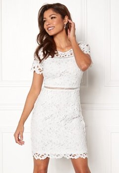 Chiara Forthi Felizia Lace Dress Cream Bubbleroom.dk