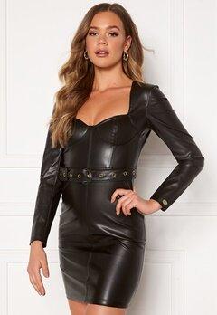 Chiara Forthi Gemma L/S Corset Dress Black bubbleroom.dk