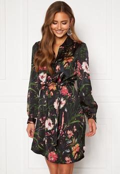 Chiara Forthi Genesis shirt dress Black / Patterned Bubbleroom.dk