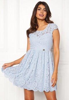Chiara Forthi Guidia lace dress Light blue Bubbleroom.dk