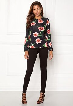 Chiara Forthi Intrend Tulip Top Red / Floral Bubbleroom.dk