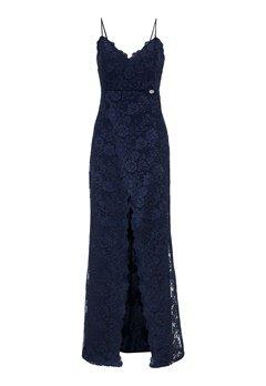 Chiara Forthi Irmeline gown  Dark blue bubbleroom.dk