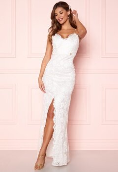 Chiara Forthi Irmeline gown  White bubbleroom.dk