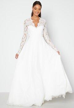 Chiara Forthi Kate lace gown White bubbleroom.dk