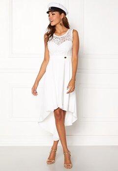 Chiara Forthi Kimberly Highlow Dress Antique white Bubbleroom.dk