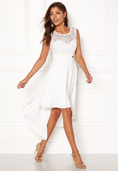 Chiara Forthi Kimberly Highlow Dress Antique white Bubbleroom.dk