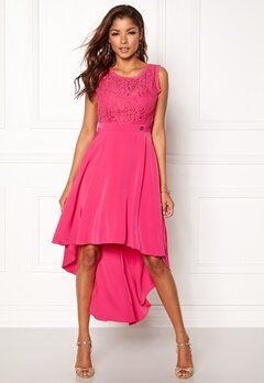 Chiara Forthi Kimberly Highlow Dress Cerise Bubbleroom.dk