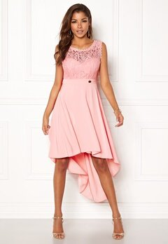 Chiara Forthi Kimberly Highlow Dress Light pink Bubbleroom.dk