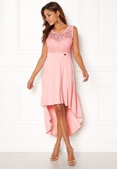 7138dc95 Chiara Forthi Kimberly Highlow Dress Light pink Bubbleroom.dk