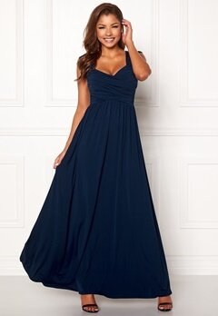 Chiara Forthi Kirily Maxi Dress Blue Bubbleroom.dk