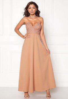 Chiara Forthi Kylee Maxi Dress Light pink Bubbleroom.dk