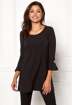 Chiara Forthi Leah tunic Black Bubbleroom.dk