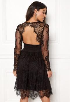 Chiara Forthi Lucette lace dress Black Bubbleroom.dk