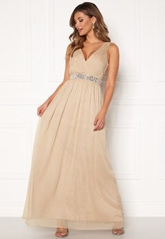 Chiara Forthi Madelaide Sparkling Gown Champagne bubbleroom.dk