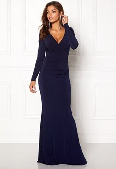 Chiara Forthi Mandy Maxi Dress Dark blue Bubbleroom.dk