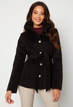 Chiara Forthi Marion Short Coat Black bubbleroom.dk