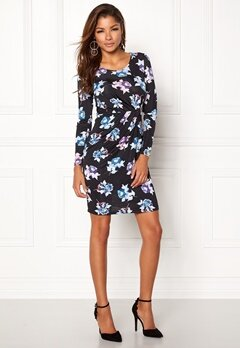 Chiara Forthi Marjorie Dress Purple / Blue / Floral Bubbleroom.dk