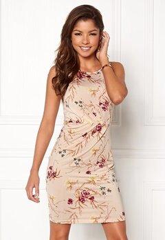 Chiara Forthi Marjorie Sleeveless Dress Beige / Floral Bubbleroom.dk