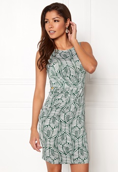Chiara Forthi Marjorie Sleeveless Dress Green / Patterned Bubbleroom.dk