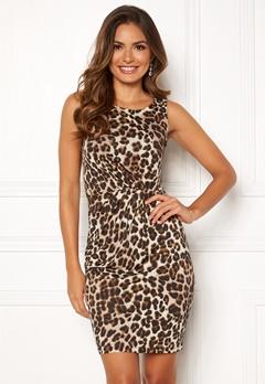 Chiara Forthi Marjorie Sleeveless Dress Leopard Bubbleroom.dk