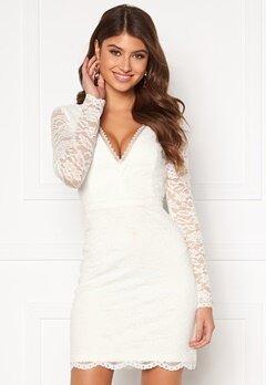 Chiara Forthi Mathilde lace dress White Bubbleroom.dk