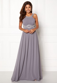 Chiara Forthi Matia Embellished Dress Dusty lilac Bubbleroom.dk