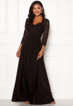 Chiara Forthi Nathalia Maxi Dress Black Bubbleroom.dk