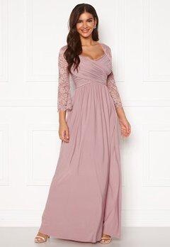 Chiara Forthi Nathalia Maxi Dress Dusty lilac Bubbleroom.dk