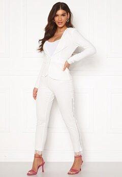 Chiara Forthi Nikita Lace Pants White Bubbleroom.dk