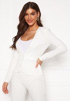 Chiara Forthi Nikita Suit Jacket White Bubbleroom.dk