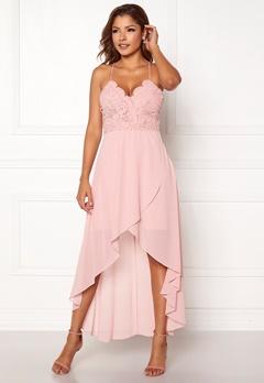91a239abd615 Chiara Forthi Ofelia Crochet Dress Pink Bubbleroom.dk