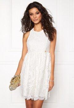 Chiara Forthi Ornela Lace Dress Antique white Bubbleroom.dk