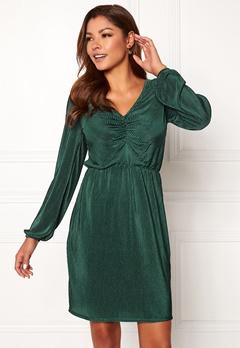 Chiara Forthi Perla dress Emerald green Bubbleroom.dk