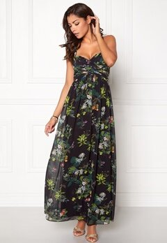 Chiara Forthi Primarosa Dress Black / Floral Bubbleroom.dk