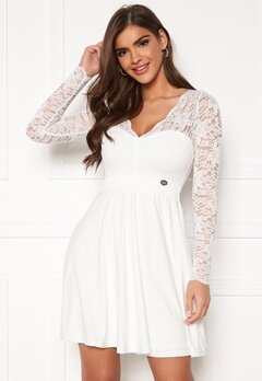 Chiara Forthi Riccia Dress White Bubbleroom.dk