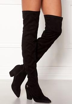 Chiara Forthi Roma overknee boots Black Bubbleroom.dk