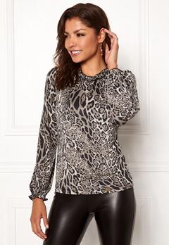 Chiara Forthi Romea top Leopard Bubbleroom.dk
