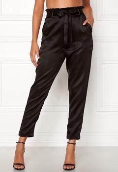 Chiara Forthi Sania paperbag pants Black Bubbleroom.dk