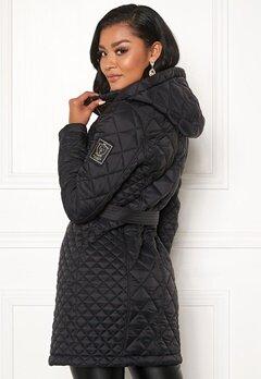 Chiara Forthi Sarraceno Quilted Jacket Black bubbleroom.dk